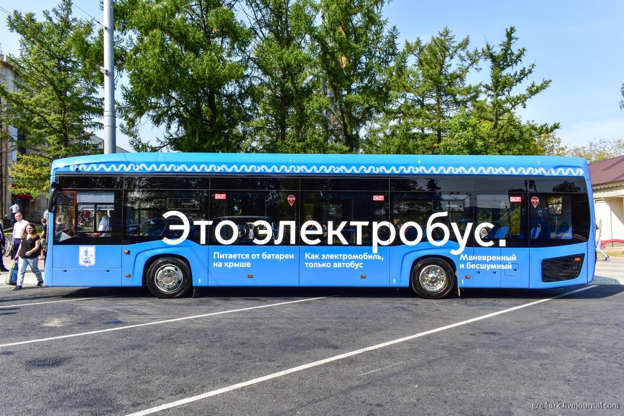 Москвичам понравились электробусы