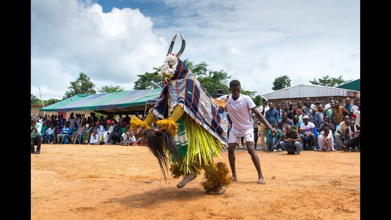 Festival de danses et masques gouro