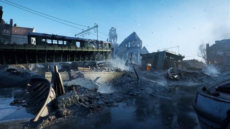 Релизное видео Battlefield V - Мультиплеерные карты