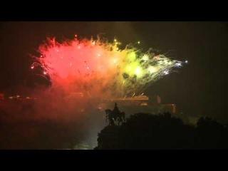 Feuerwerk Rhein in Flammen