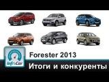 Forester 2013. Часть 6 из 6: Итоги и конкуренты (Тест-драйв Субару Форестер)
