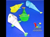 Подвижные игрушки из бумаги 🐠 vk.com/luckycraft – подпишись!