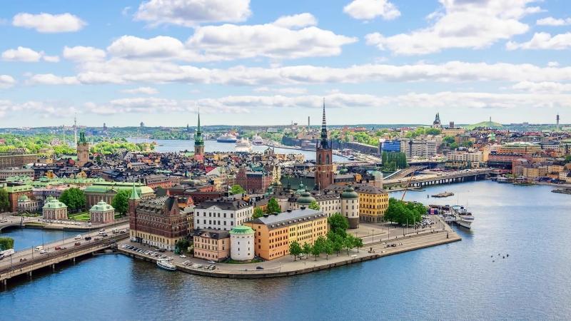 Город у воды || Стокгольм
