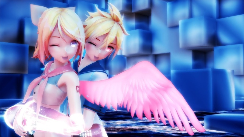 【MMD】- Shadow World 【Len and Rin】
