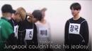 Jungkook couldn't hide his jealousy | taekook moments 4th hea