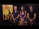 Zac Efron, Emily Ratajkowski &amp Max Joseph - We Are Your Friends Interview HD