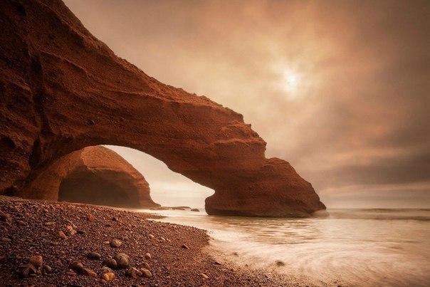 Пляж легзира, Марокко