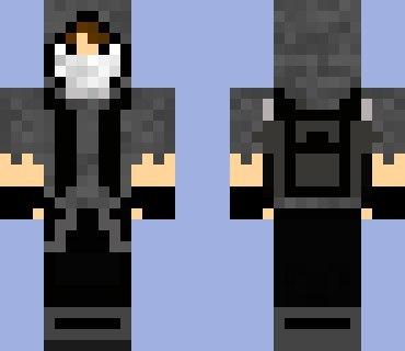 скачать скин парня в капюшоне для Minecraft - фото 10