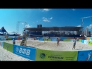 Beach volley Russia Kazan 2018 W 09 Frolova-Sviridova and Terentyeva-Tsyganova