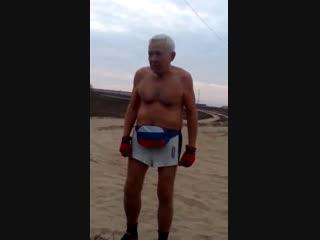 Морж 72 года