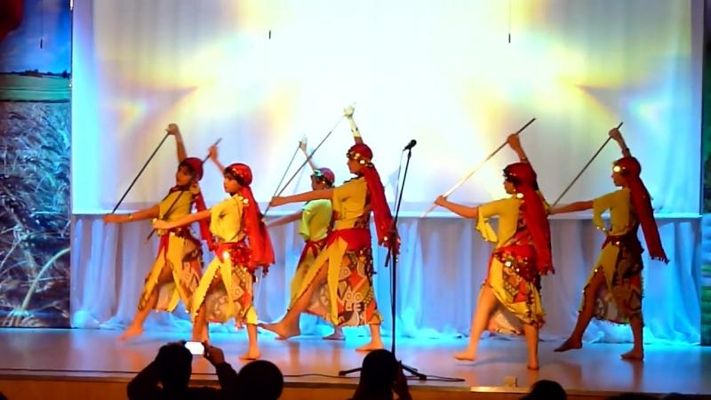 Студия восточного танца Регалия: фольклор Саиди. Руководитель Регина Нигматулина