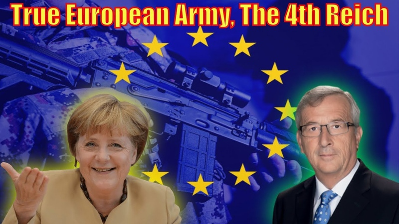 True European Army forming to defend EU from U.S.