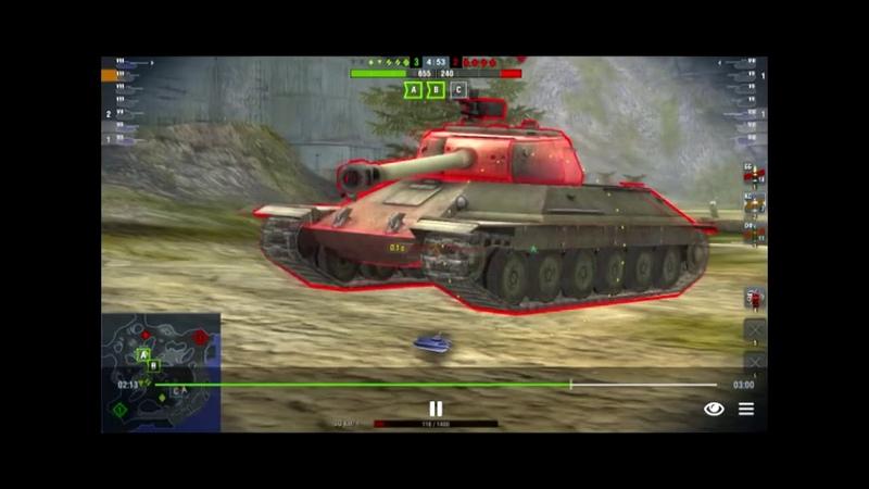 Wot Blitz / Т-34-2/WZ-120/ Когда раку реально везет или Как выжить без HP?