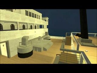 Как тонет корабль в 3D