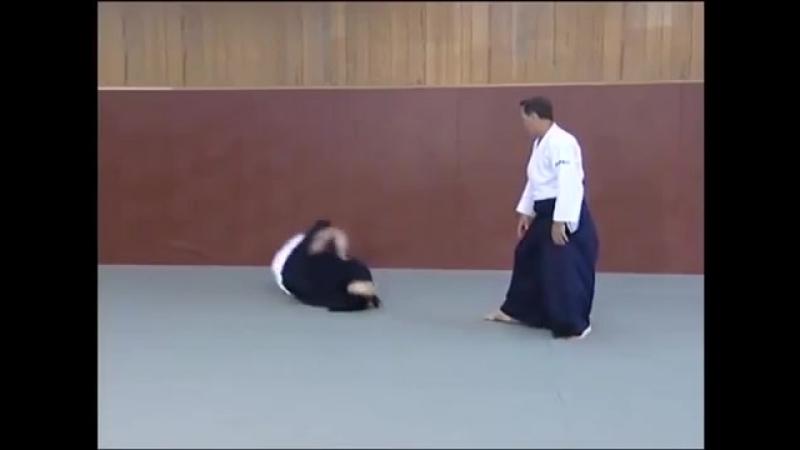 Кристиан Тиссье. Применение Айкидо (Christian Tissier. Applying Aikido)