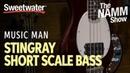 Ernie Balls Music Man StingRay Short Scale Bass at Winter NAMM 2019