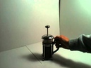 Utiliser une cafetière à piston Préparer un bon café