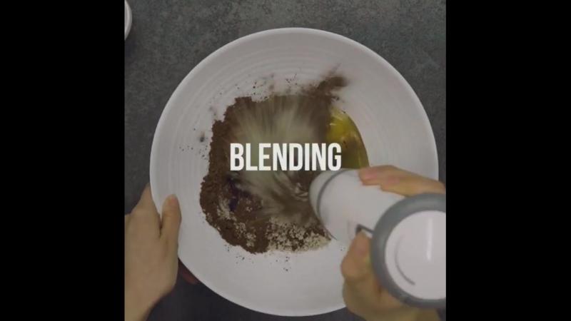 Шоколадно кокосовый омлет