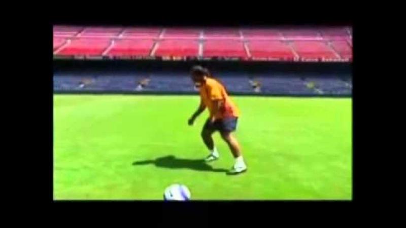 Любимый финт Роналдиньо