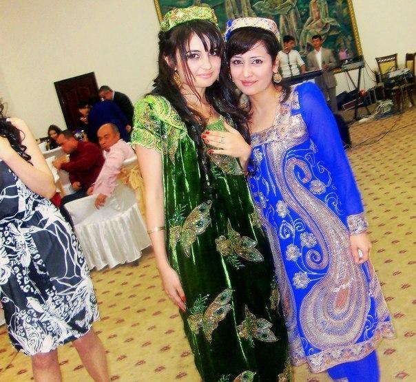 Фото таджикская платья