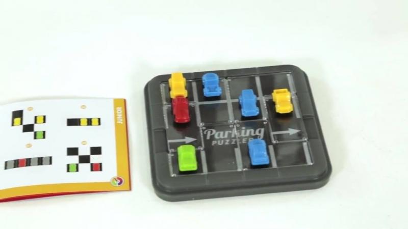 Парковка. Пазл - логическая игра BONDIBON SMARTGAMES
