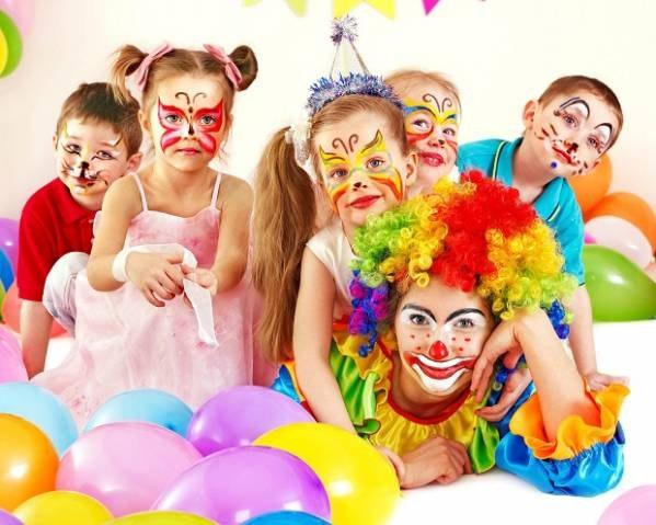 Выезды на детские праздники