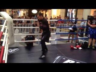 Тренировка Дмитрия Чудинова (27-май-2014)