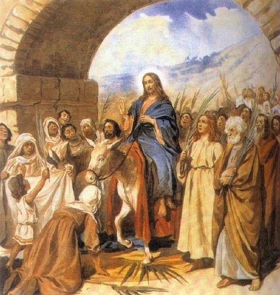 Сегодня отмечается большой православный праздник - Вход Господень в Иерусалим. С праздником!