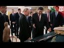 Путин подарил сруб бани СИ Цзиньпину