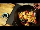 Busaba presents Chilli Prawn Stir Fry