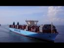 Triple-E vessel Madrid Maersk calls at Modern Terminals in Hong Kong 9 July 2017