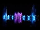Поющие фонтаны на озере Абрау Дюрсо