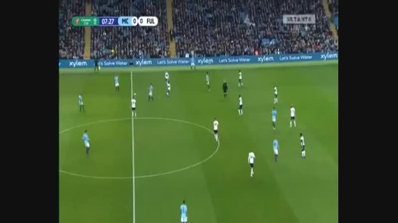 Зінченко у матчі Манчестер Сіті - Фулхем відео усіх дій українця