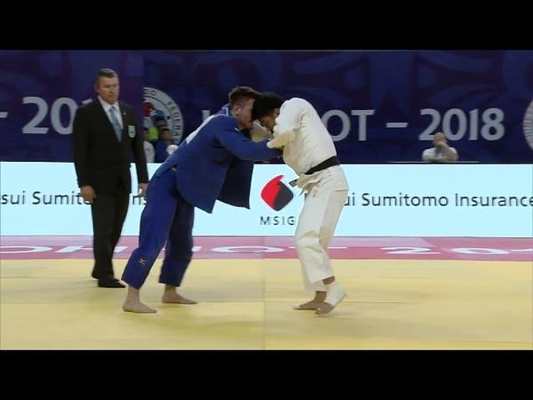Grand-Prix Hohhot 2018 HASHIMOTO Soichi (Japan) - ZINGG Anthony (Germany)
