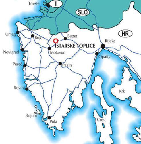 Хорватия: Курорт Истарске Топлице