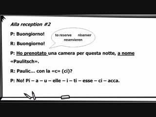 Corso di italiano - Lezione 34 _ Alla reception di un hotel (Learn Italian - Italienisch lernen)