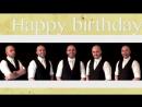 Happy birthday ٭NSYNC A cappella