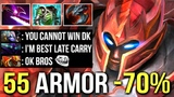 EPIC 55 Armor -70 Damage DK Mid vs Spectre Best Late Game Carry Crazy Pro Gameplay WTF Dota 2