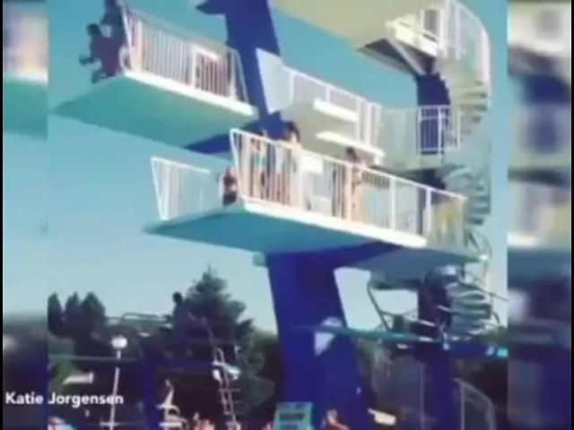 This is Why You Should Never Hesitate During a Dive | Dive 22ft High Dive Goes Painfully Wrong