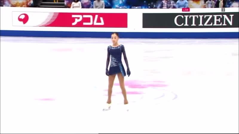 Elizabet Tursynbaeva, SP - ESP - Чемпионат мира - 2019