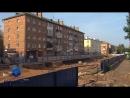 При проведении работ по строительству дороги к путепроводу, на ул.Дьяконова была обнаружена фугасная авиационная бомба.