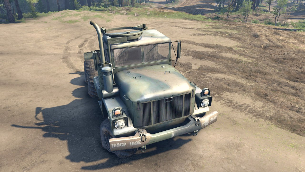 Армейский грузовик M35A2 для Spintires - Скриншот 1