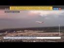 Новости на «Россия 24» • Сезон • Опасный маневр: в Дюссельдорфе самолет почти зацепил здание терминала