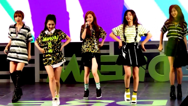 [FANCAM MIRRORED] 4MINUTE - Whatcha Doin' Today (Members Only)