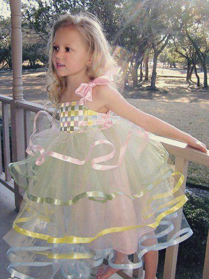 Сшить платье для девочки 1 год своими руками нарядное
