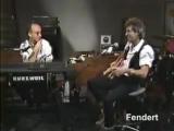 Keith Richards Paul Shaffer Friday Night Video 1986 part 1