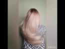 Sofia hairfucker pastel powder pink blond