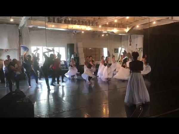 Marisol Blanco and Yoanis Pelaez Tamayo Rumba Class at 6 St Dance Studio Miami 2018