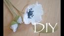 Анемоны или мак из бумаги DIY Tsvoric