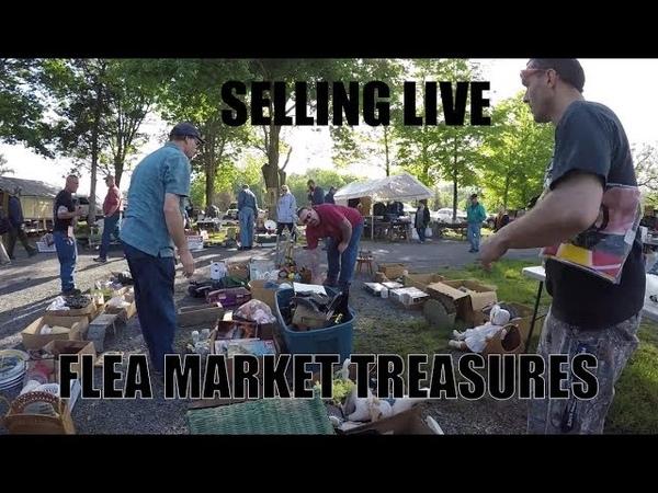 Selling at a Flea Market from Барахолка